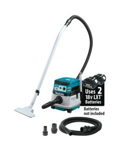 Makita XCV08Z 18V X2 (36V) Cordless 2.1 Gallon Extractor/Vacuum - Tool Only