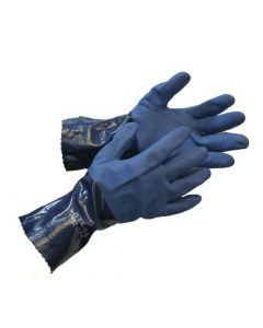 Nitrile Blue Work Glove