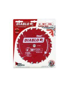 Freud D0620X Diablo 6-inch 20T Framing Saw Blade with 1/2-inch Arbor