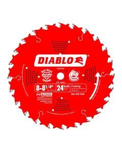 Freud D0824X Diablo 8-1/4-inch 24 Tooth ATB Framing Saw Blade w/ 5/8-inch Arbor