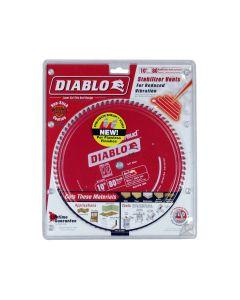 Freud D1080N Diablo 10-inch 80T TCG Non-Ferrous Metal Miter Cutting Saw Blade