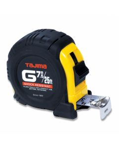 Tajima G-25-7.5MBW 25-Feet 7.5 Meter by 1-Inch Standard and Metric G-Plus Tape Measure