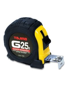 Tajima G-25BW 25-Feet by 1-Inch Standard Tape Measure