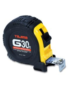 Tajima G-30BW 30-Feet by 1-Inch Standard G-Plus Tape Measure