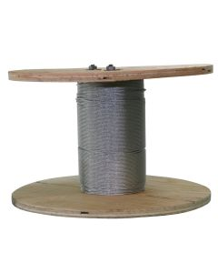 West Coast Wire Rope G116100C 250 Feet of Galvanized Wire Rope 1/16-inch