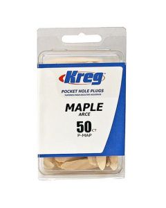"Kreg P-MAP-50 3/8"" Max Maple Plugs - 50 count"
