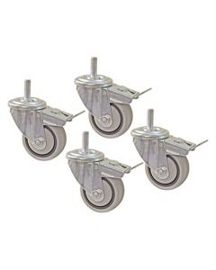 Kreg PRS3090 3-Inch Dual Locking Caster-Set (4 Piece)