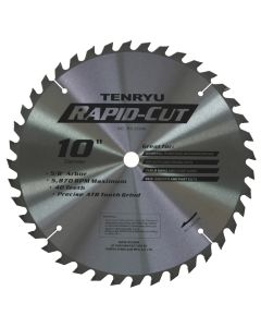 Tenryu RS-25540 10-Inch 40T Rapid-Cut Blade for Woodworking