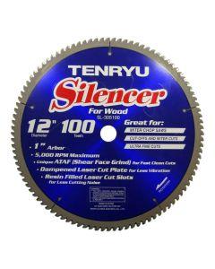 Tenryu SL-305100 12-inch Carbide Tipped Table Miter Saw Blade
