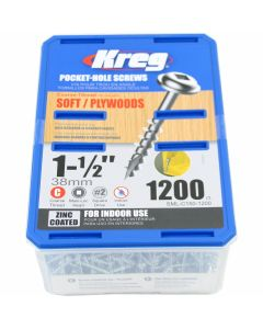 Washer Head Pocket Hole Screws