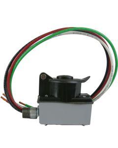 CEP SR50 50-Amp 125-Volt/250-Volt 3R Weatherproof Black Receptacle