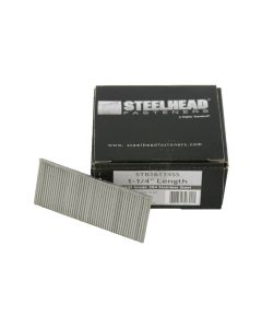 Steelhead STB16114SS 16-Gauge 1-1/4-inch Leg Stainless Steel Nail Brad, 2500-PK