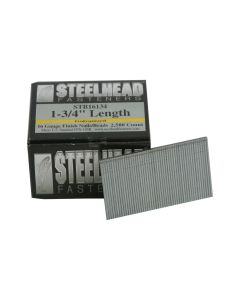 Steelhead STB16134 16-Gauge 1-3/4-inch Galvanized Brad Nails, 2,500-Pack