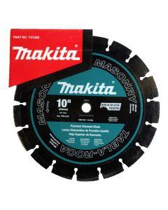 The Makita T-01258 10-Inch Blade Segmented Masonry