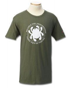 Spyderco TSMRHPM T-shirt Men Reliable High Performance Green T-Shirt - Medium