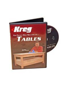 Kreg V05-DVD Pocket Hole Joinery DVD Building Tables