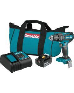 "Makita XPH131 18V LXT Compact Brushless Cordless 1/2"" Hammer Driver Drill Kit"