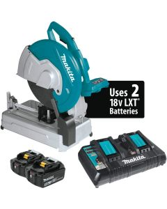 Makita XWL01PT 18V X2 LXT 36V Brushless Cordless 14-In Cut_Off Saw Kit 5.0ah