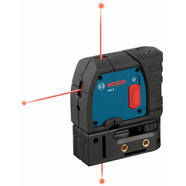 BOSCH GPL3   3 Point Self Level Alignment Laser