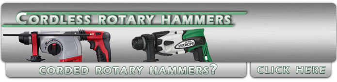 Battery Operated Rotary Hammers