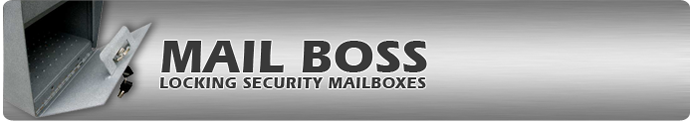 Security Mail Boxes and Accessories By Mail Boss