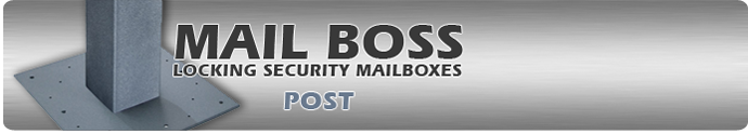 Security Mailboxes and Accessories By Mail Boss