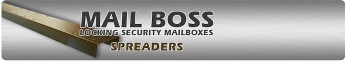 Spreaders For Mailboxes By Mail Boss