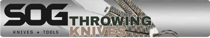 Throwing Knives By SOG